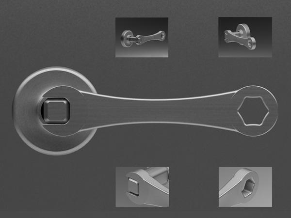 Wrench Open The Door Yanko Design