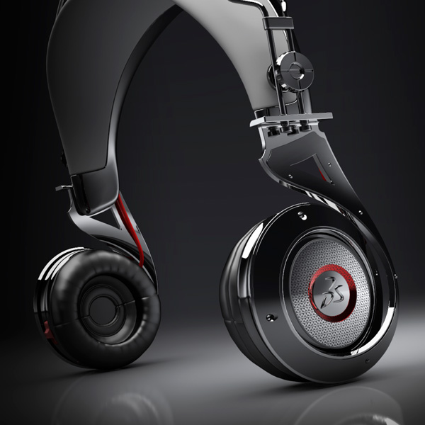 Helix-IR Headphones Concept by Jean Hong