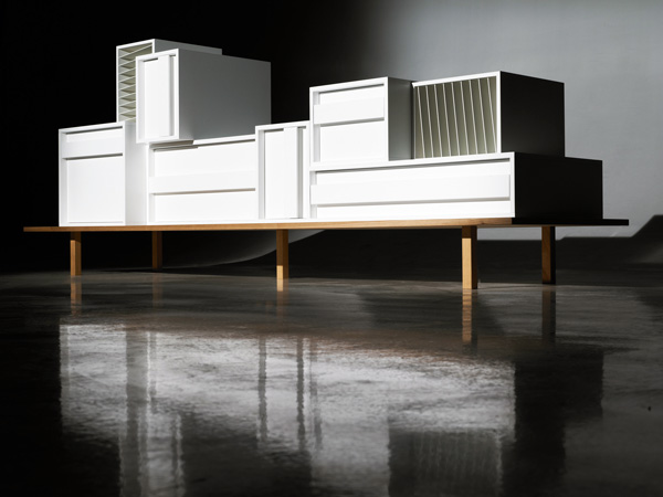 Container - Modular Sideboard System by Alain Gilles