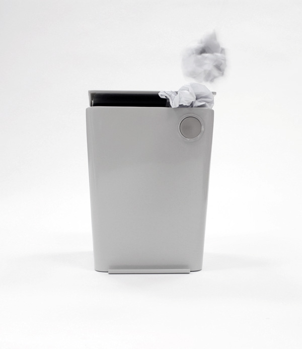 Vacbin - Vacuum Wastebin Combination by Jocelyn Sie