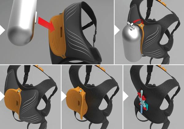 Paraplegic Scuba System by Emil Orman