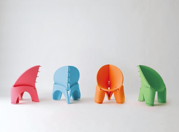 EVA - Kids Chair by Satoshi Itasaka
