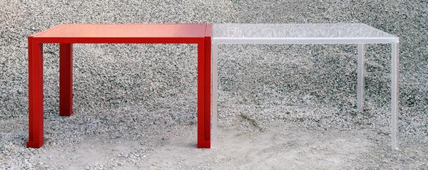 İçiçe iki masa