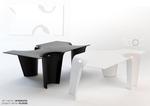Flood - Table by UNOAUNO