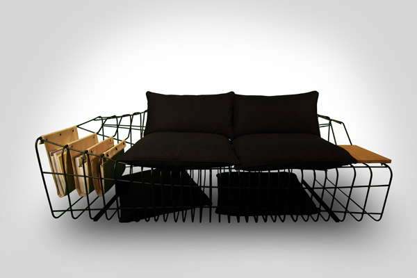 Sophisticated and Minimal Sofa