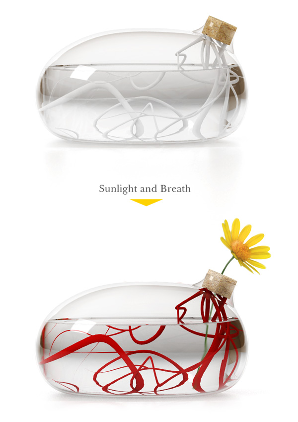 Life Vase by Kim Joonmin