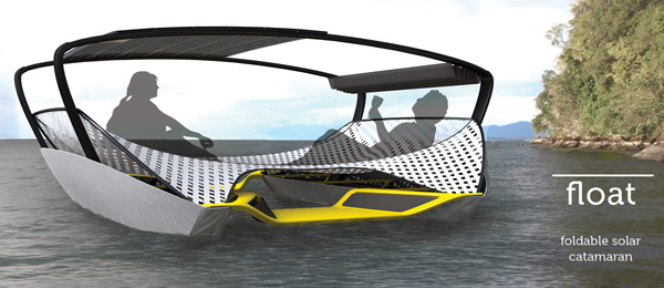 Float - Solar Catamaran by Jeffrey Greger