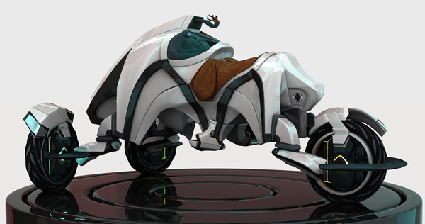 The Saddle - Concept Vehicle by Attila Tari