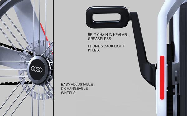 Audi Electric Bike Yanko Design - Audi e bike