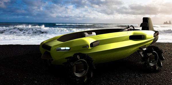 Volkswagen Beach Rescue - Concept Vehicle by Sebastian Toddenroth