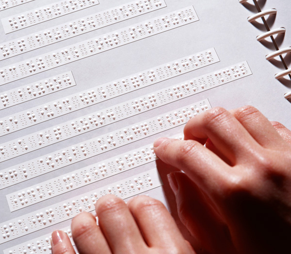 how to write in braille by hand