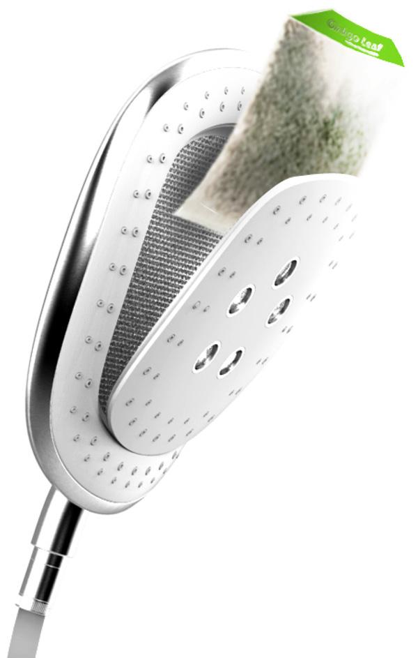 Chinese Herbal Shower | Yanko Design