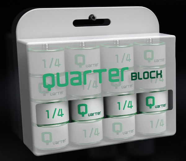 Quarter Block Battery by Sun-You Lee