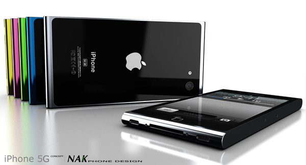 iPhone 5 Concept by Antoine Brieux of NAK Studio