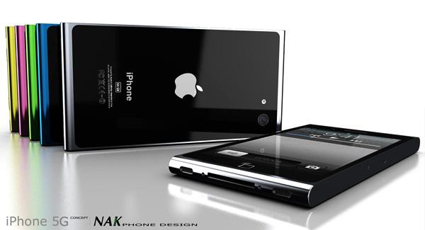 iPhone 5 Concept by Antoine Brieux of NAK Studio