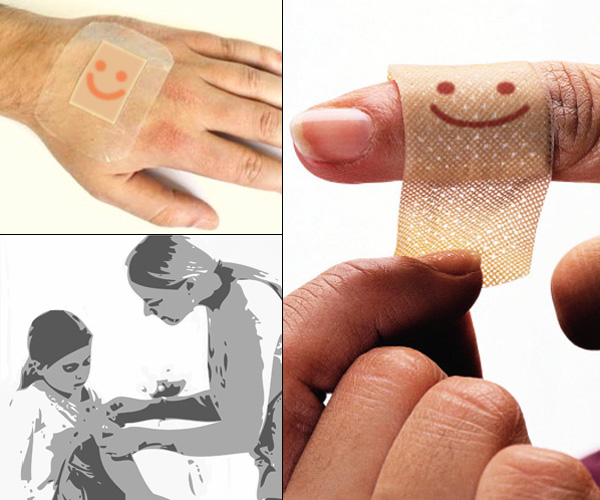 Best Design News smile_plaster Put A Smile on the Plaster Hot Design  Smile Band Aid Cynthia Rowley Band Aid   Best Design News smile_plaster2 Put A Smile on the Plaster Hot Design  Smile Band Aid Cynthia Rowley Band Aid