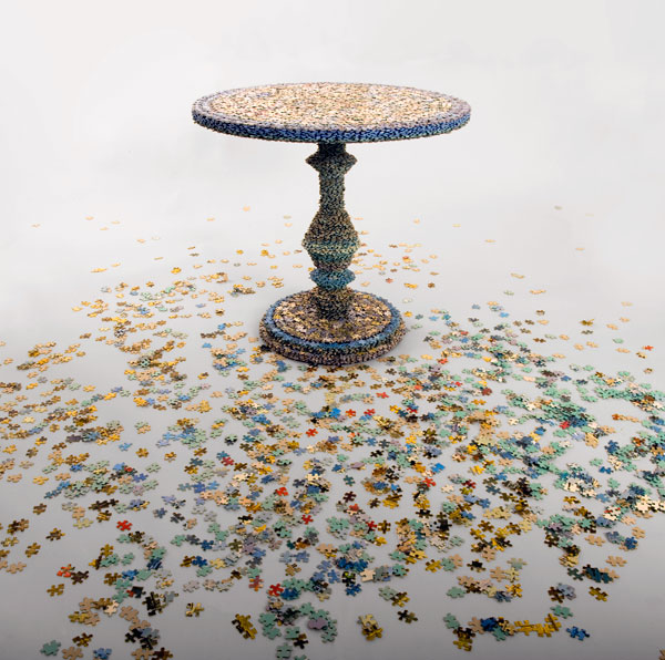 Missing Pieces - Table by Rupert McKelvie
