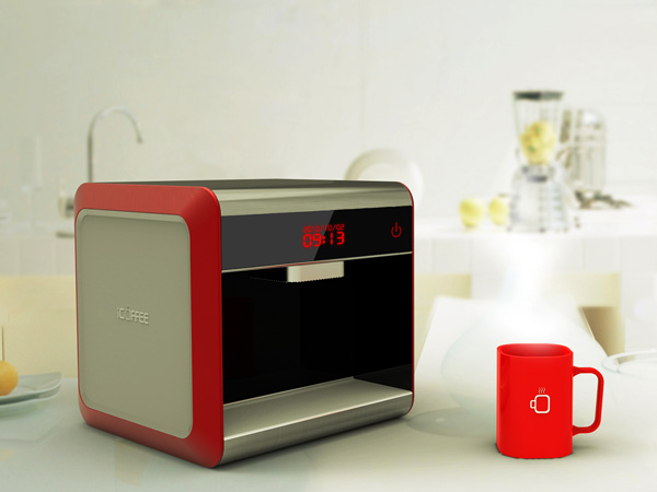 iCoffee – Coffee Machine by Huang Guanglei