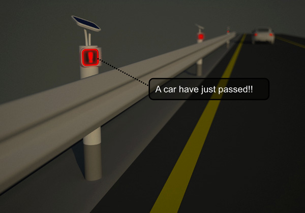 Safety Distance – Road Side Indicator by Da Wei Xing