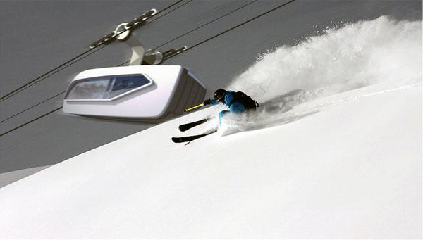 Montaurus - Ski Lift by Clemens Auer