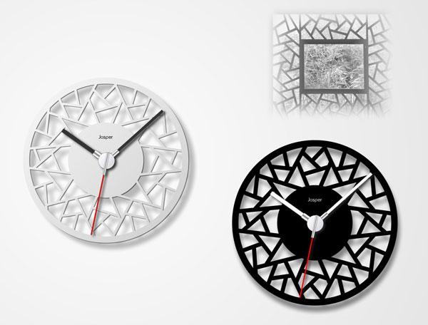Pane Clock by Jasper Hou