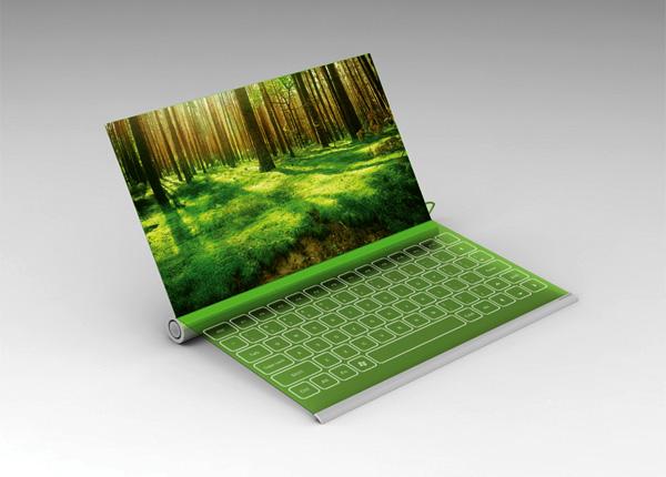 Plantbook Laptop Concept by Seunggi Baek & Hyerim Kim