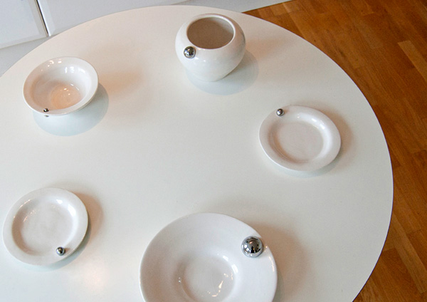 Absence - Tableware by Petra Schmidt