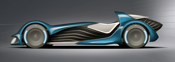 The Touch Effect - Concept Car by Marco Sweston