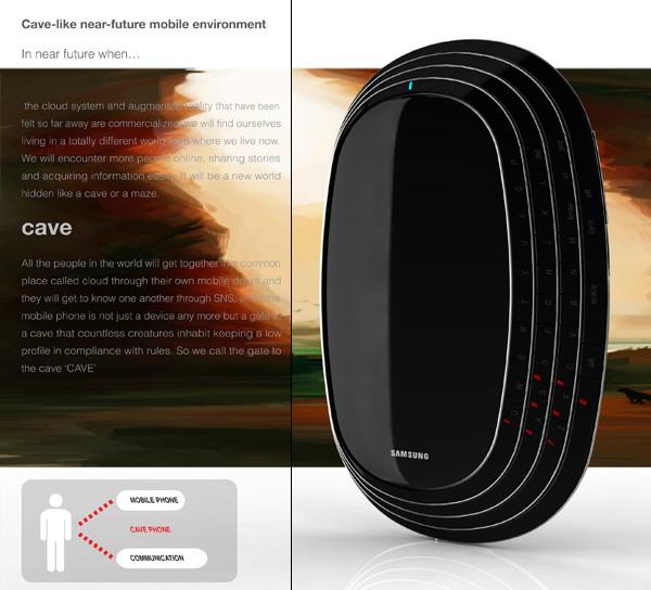 The Cave Phone Concept by Kim Min Seok