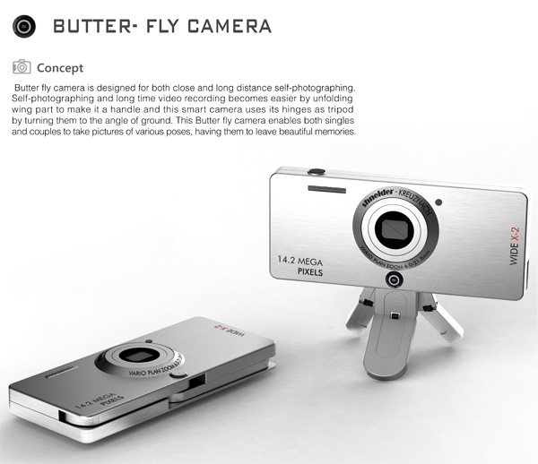 Butter-Fly Camera Concept by Joh Minhoo