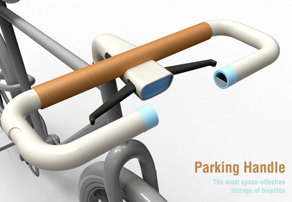 Bike Handle Lock by Sang Min Yu
