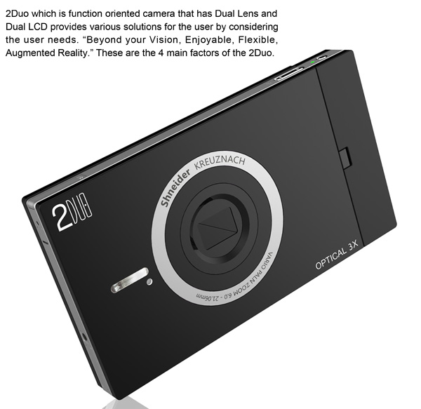 2Duo Concept Camera by Ahlim Son