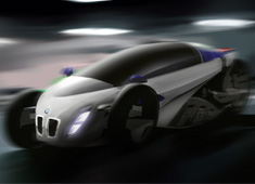 BMW Electric Trike-Car