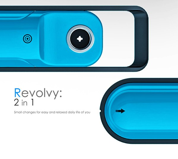 Revolvy 2in1 – Mixer and Blender Concept by Wonkook Lee