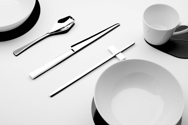 Shadow Cutlery and Tableware by Kijtanes Kajornrattanadech