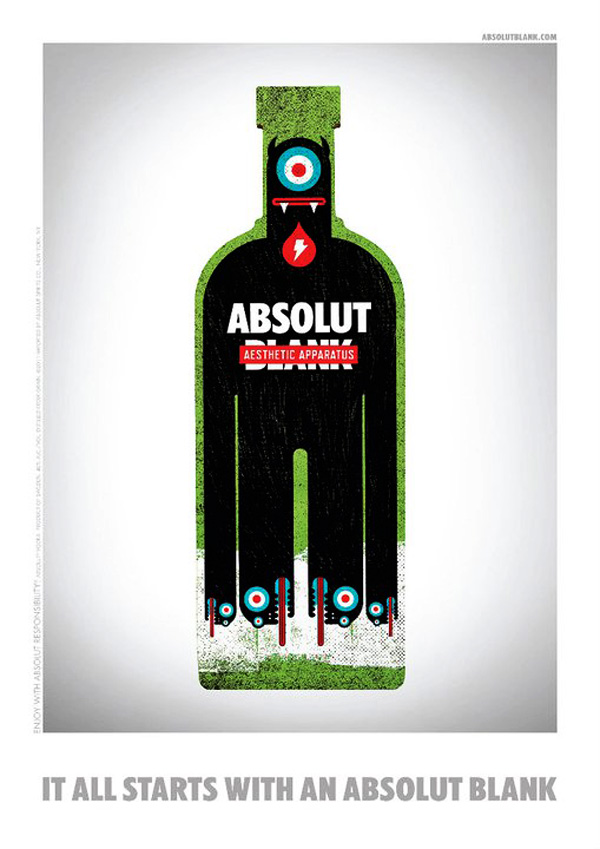 ABSOLUT BLANK Inspires Creativity & Imagination