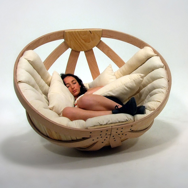 Rocking Motion In Adults ~ Cradle for adults yanko design