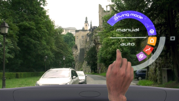 The Aeon Project - Augmented Reality for Vehicles by Michaël Harboun, Fabien Chancel, and Akki Reddy Challa