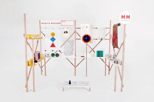 The Mobile Museum by FABRICA