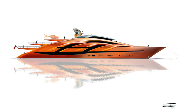 Conch - 90m Yacht by McDiarmid Design