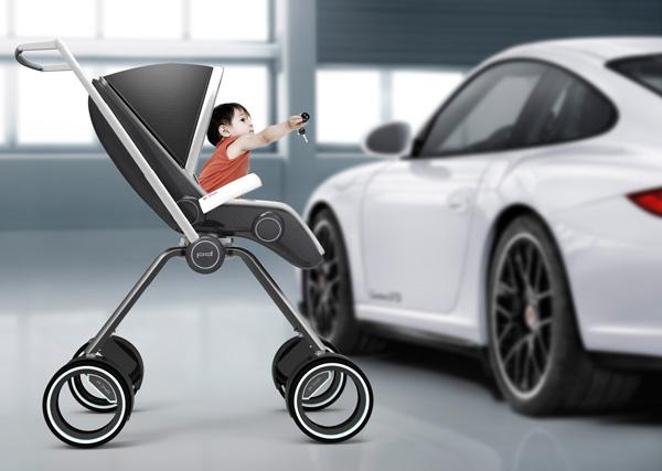 P'4911 - Baby Stroller by Dawid Dawod