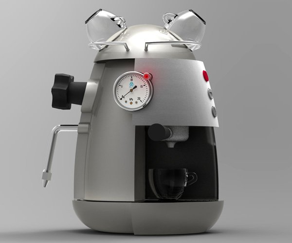Kansas - Espresso Machine by Yotam Cohen