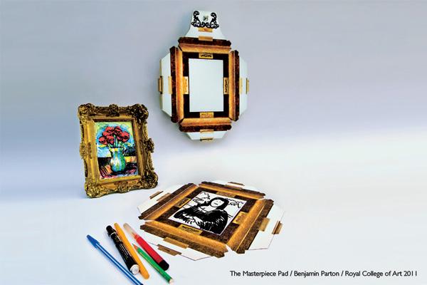 Masterpice Pad - Doodle Frame by Benjamin Parton