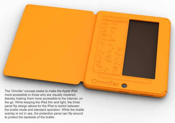 Omnifer - iPad Cover for Braille by Jayson D'Alessandro