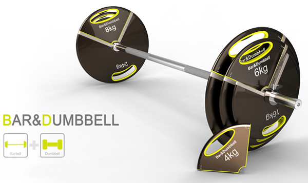 Bar&Dumbbell - Barbell and Dumbbell by Jun Hyun Kim