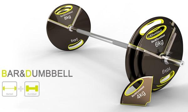 Bar&Dumbbell - Barbell and Dumbbell by Jun Hyun Kim