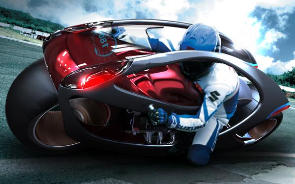 Hyundai Concept Motorcycle by Min Seong Kim