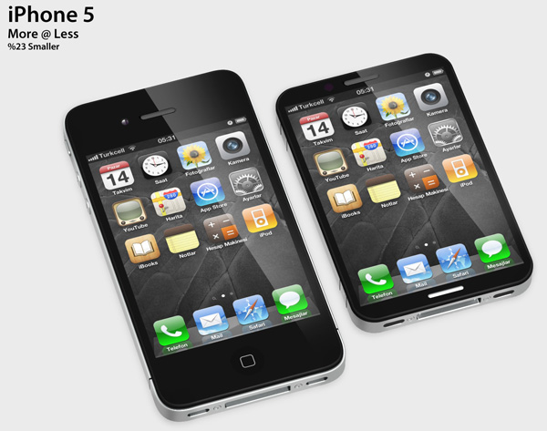 iPhone 5 - More @ Less Concept Phone by Zeki Ozek