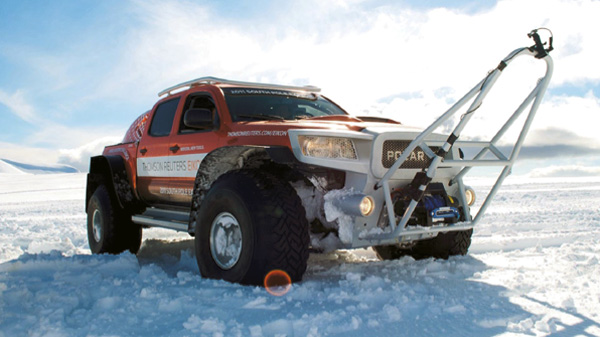 Polar Vehicle by Ian Nisbett Design