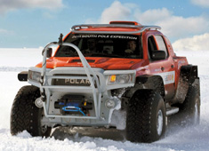 Record Breaking Polar Vehicle